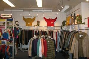 Butik, udstillinger i butikken